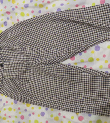 Karirane HM hlače