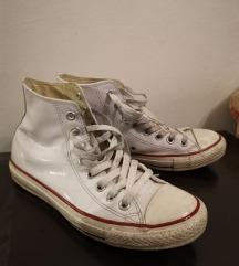 kožne bijele all star converse