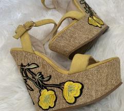 175kn!!Gucci like platforme sandale žute