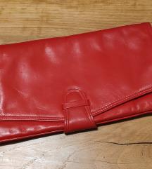 Crvena clutch torba / pismo torbica