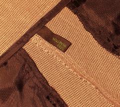 Benetton karirane 38/M poslovne hlače na peglu