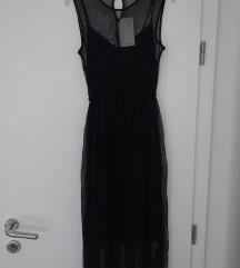 Mango crna haljina, NOVA s etiketom!!!