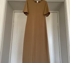 H&M haljina zlatne boje