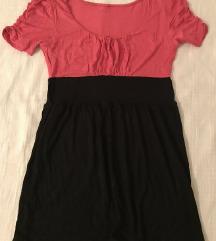 Rozo-crna haljina