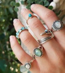 Set boho prstenja