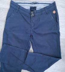 House navy plave chino hlače