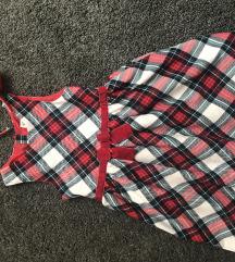 H&M karirana haljina