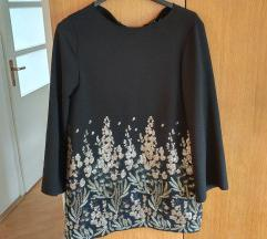 zara sequin embroided haljina