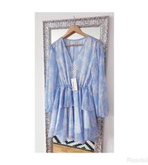 Shona Joy Emilia baby blue haljina RRP €486