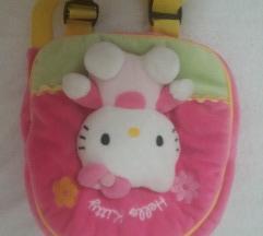 Ruksak baršun Hello Kitty