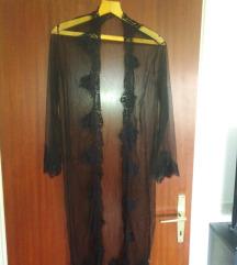 Ogrtač/sexi kućna haljina od tila