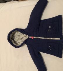 Zara plava krep jaknica 86