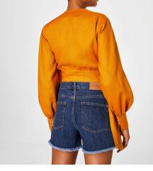 Mango kratke hlačice visoki struk-novo!!!