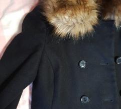Naf Naf skoro novi kaput 80%vune