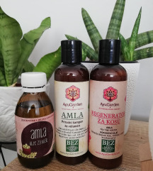 Paket za kosu Amla-obnova i volumen