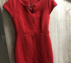 Crvena kratka haljina(uracunata pt