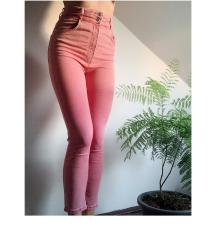 Bershka pink high waist EUR40 jeans