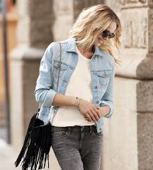Jeans svijetloplava jakna