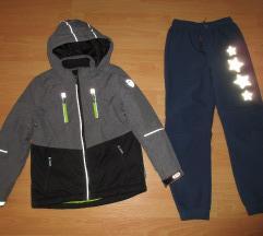 zimska jakna 140 + termo hlače