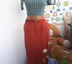 Vintage duga suknja
