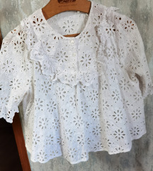 Bluza čipka zara