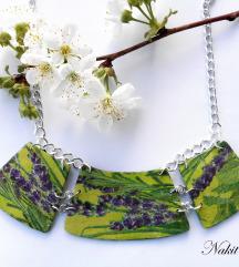Šumska zelena ogrlica