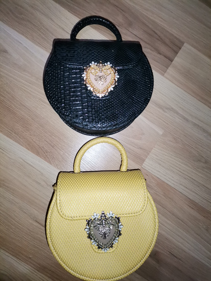 Lovely bag žuta i crna