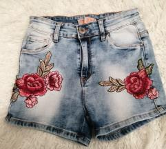 Jeans kratke hlačice