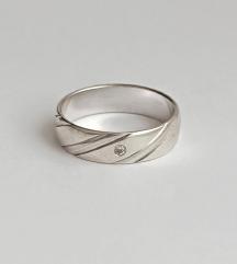 Vintage prsten srebro 925