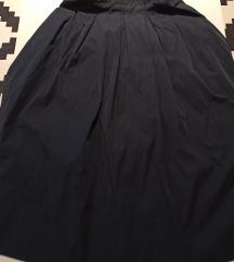 Plava široka Zara suknja
