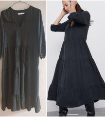 Zara nova midi haljina M