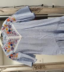 Zara haljina sa etno detaljima