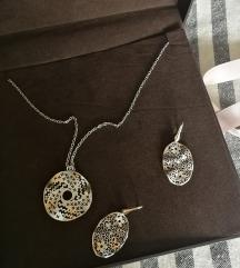 Zaks komplet, srebro 925