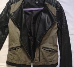 Kožna jakna M veličine