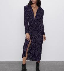 Zara tockasta haljina