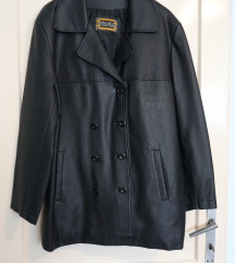 Ženska kožna oversized PVC rock jakna vel. XL