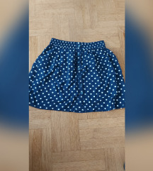 Kratka suknjica na tockice