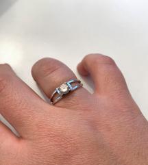 Srebrni prsten vel. 18 mm