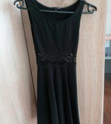 Crna ljetna haljina