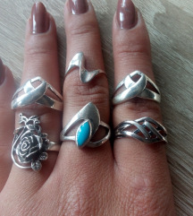 Srebrno gothic prstenje Pt.2