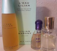 1 + 2 gratis parfemi 100ml, 50 ml, 25 ml