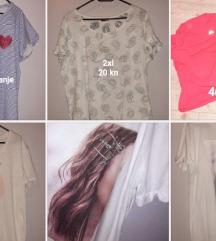 Lot novih majica xl,xxl 20-40 kn