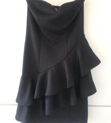 Stradivarius crna haljina