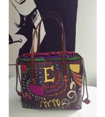 Etro paisley shopper torba