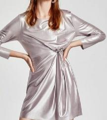 Zara haljina metalik