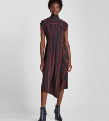 zara asimetrična haljina