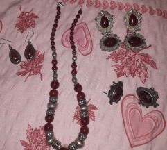 Set ogrlica i 1 nausnice po odabiru