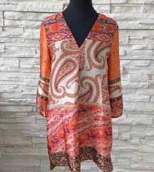 ZARA haljina / tunika s uzorkom
