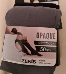 Hulahopke soft touch, 50 DEN, dvoje u cijeni