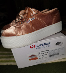 Superga platnene tenisice dusty rose kao nove